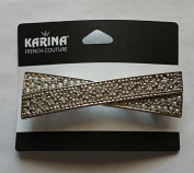 Karina French Couture elegant bow hair barrette