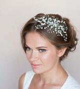Pearl and Rhinestone Bridal Wedding Hair Comb Hair Accessories, Hairpin Bridal Hair, Wedding Hair, Bride Hair Jewellery