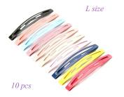 J-Beauty 20 Pcs DIY Colourful Hair Clips