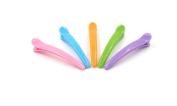 J-Beauty 20 Pcs DIY Colourful Plastic Duckbill Teeth Bows Hair Clips Hair Accessories Barrettes
