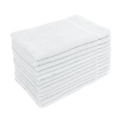 for Altima Plus Bleach Safe Salon Towels, White, Pack of 12