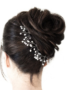 FXmimior 3 Pcs Bridal Wedding Crystal Hair Pins Weddings Evening Party Hair Accessories