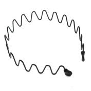 J-Beauty Unisex Women Girl Men Sport Metal Hair Hoop Hairband Head Band Accessory