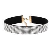 Wensltd Clearance!1 PCS Women's Elegant Crystal Choker Necklace Diamond