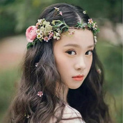 Venusvi Wedding Flower Headband for Women and Girls