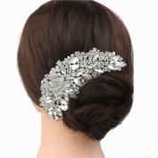 Yilanair Crystal Bridal Hair Comb Rhinestone Wedding Hairpin Hair Clips