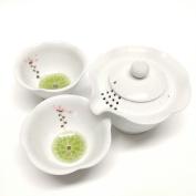 Korean porcelain Hand-made Lotus flower Gift boxed