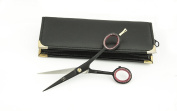Barber Hair Cutting - Hair Dressing Black Scissor With Pouch From PBI