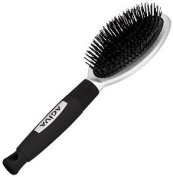 Agiva Hair brush with Natural boar bristles for Thin Brittle Hair