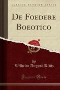 de Foedere Boeotico  [LAT]