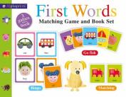 Alphaprints First Words Matching Set (Alphaprints) [Board book]