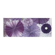 "KESS InHouse Heidi Jennings ""Lavender Wishes"" Purple Bed Runner, 90cm x 220cm"
