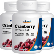 Nutricost Cranberry Extract (25,000mg) (120 Caps)