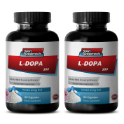 Woman sex enhancements - NATURAL L-DOPA (MUCUNA PRURIENS EXTRACT 350Mg) - L-dopa bulk - 2 Bottles 120 Capsules