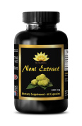 Energy pills for women - NONI EXTRACT 500Mg - Noni supplement - 1 Bottle 60 Capsules