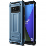 """Galaxy S8 Case, [Coral Blue] """"Made in Korea"""" Ultimate Drop Protection Shock Resistant Armour [Terra Guard] Premium Dual Material Layered Shockproof Phone Case by VRS Design® for Samsung Galaxy S8"""