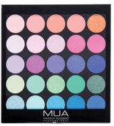 MUA - TROPICAL OCEANA EYESHADOW PALETTE - 25 RAINBOW SHADES