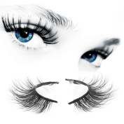 Arison Lashes 3D Long Thick Voluminous Dramatic Looking Handmade Mink False Eyelashes For Makeup