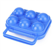 RuiChy Portable Folding Plastic Egg Carrier Holder Storage Container