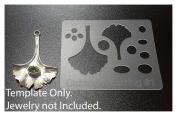 "Cabtopia -- Jewellery Design Template Stencil ""Earring #2.5cm"