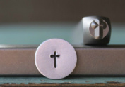 Brand New Supply Guy 5mm Simple Cross Metal Punch Design Stamp CH-144