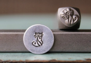 Brand New Supply Guy 6mm Cat Metal Punch Design Stamp CH-129