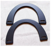 Ownstyle Black Wood Purse Handle Purse Handles For Sewing 2 Pcs A Pack