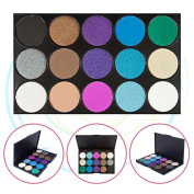 15 Colour Eyeshadow Palette, Bold and Bright Collection, Vivid, KRABICE Eyeshadow Eye Shadow Palette Makeup Kit Set(15 Eyeshadow Palette) #3