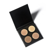 Professional Contour Palette - Premium Highlighting and Contour Palette with Pigmented Face Powder