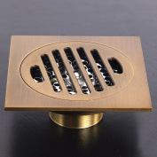 MDRW-European-and odour-resistant floor drains, shower, antique copper floor drain 10*10*7cm,C