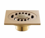 MDRW-Washing machine copper bathroom bathroom floor drain, deep-and odour-resistant double with floor drain,B short