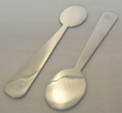 Illy Espresso Ombra Designer Espresso Spoons Set of 6 Stainless Steel