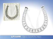 Diamante Lucky Wedding Horseshoe