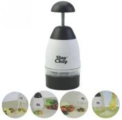 Creative Garlic Triturator Food Chopper Slap Chop Fruit Vegetable Grater Kitchen Tool
