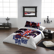 The Beatles - HARD DAY'S NIGHT - Duvet & Pillowcase Covers Set for Queensize Bed