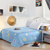 YFFS Cotton Twill Active Printed Sheets Single Cute Cotton Single Double Bed Sheets,C-160*230cm