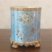 TRASH CAN American idyllic countryside dustbin continental retro look to admit and resin crafts decorating ornaments hw