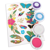 Make It Real Beauty Collection Colour Burst Hair Deco w/ Temp Chalk & Tattoos