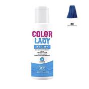 Cab's Colour Lady Semi Permanent Hair Colour 3 Lagoon Blue ,100ml