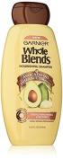 Garnier Whole Blends Nourishing Shampoo Avocado Oil & Shea Butter, 370ml Per Bottle