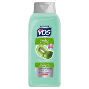 VO5 Herbal Escapes Kiwi Lime Squeeze Clarifying Shampoo, 980ml Per Bottle