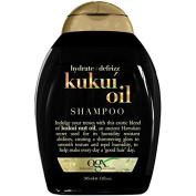 OGX Hydrate + Defrizz Kukui Oil Shampoo, 385ml