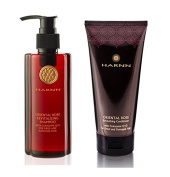 revitalising SHAMPOO (230ml) & CONDITIONER (150ml) SET (ORIENTAL ROSE) with COENZYME Q10 - (CONTAINS