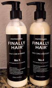 Finally Hair Brazilian Sulphate Free Shampoo & Conditioner For Use On Treated Hair