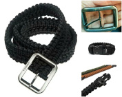FOXTROT 250kg Survival Military Grade Paracord Belt with FREE Matching Paracord Bracelet!!!