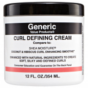 GVP Curl Defining Cream  .   Shea Moisture Coconut & Hibiscus Curl Enhancing Smoothie