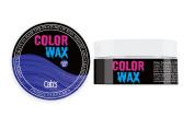 Cab's Colour Wax Unisex (Atlantic Blue-04) 80g 80ml