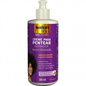 Linha Tratamento (SOS Cachos) Salon Line - Creme Para Pentear Crespos A Muito Crespos 500 Ml - (Salon Line Treatment