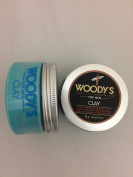 2 Pack Woody's Quality Grooming Clay 100ml