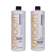 Keragen, Hair Smoothing Forte Treatment and Clarifying Shampoo, 950ml